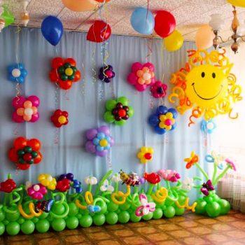 оформление детского праздника
