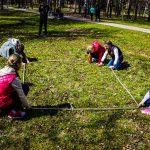 детский квест в парке