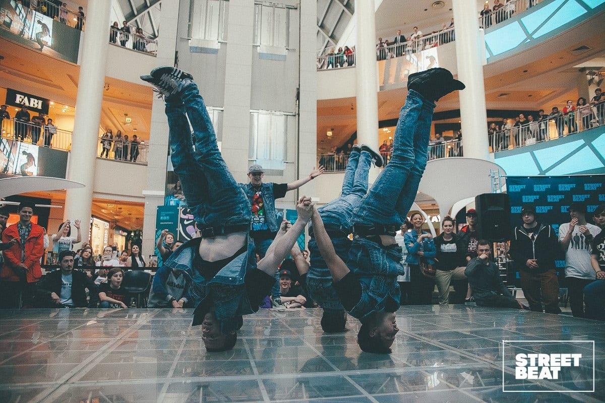 Экстремально-танцевальное шоу