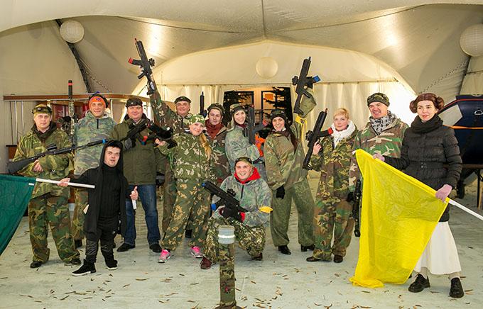 организация тимбилдинга под ключ в Москве